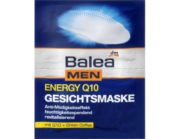 маска для лица Balea MEN energy Q10 Gesichtsmaske